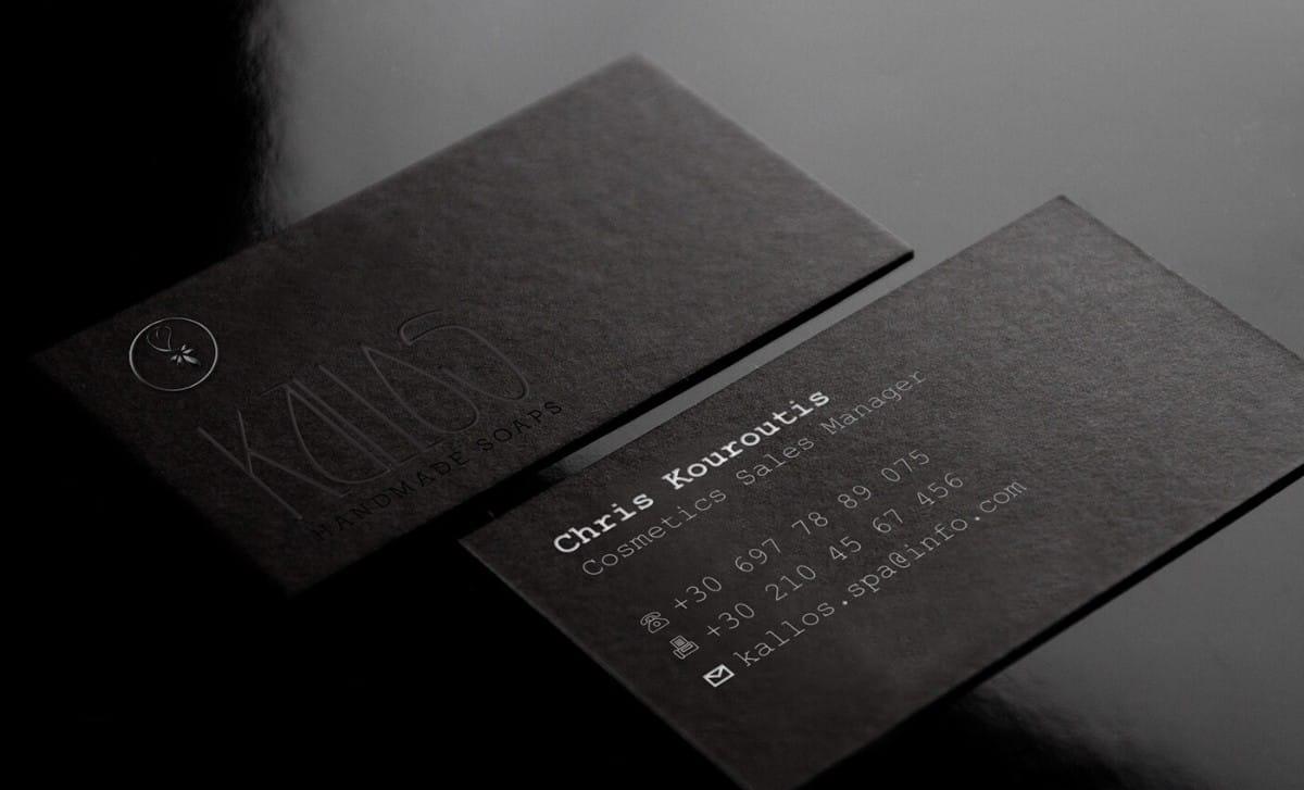SPA品牌名片設計