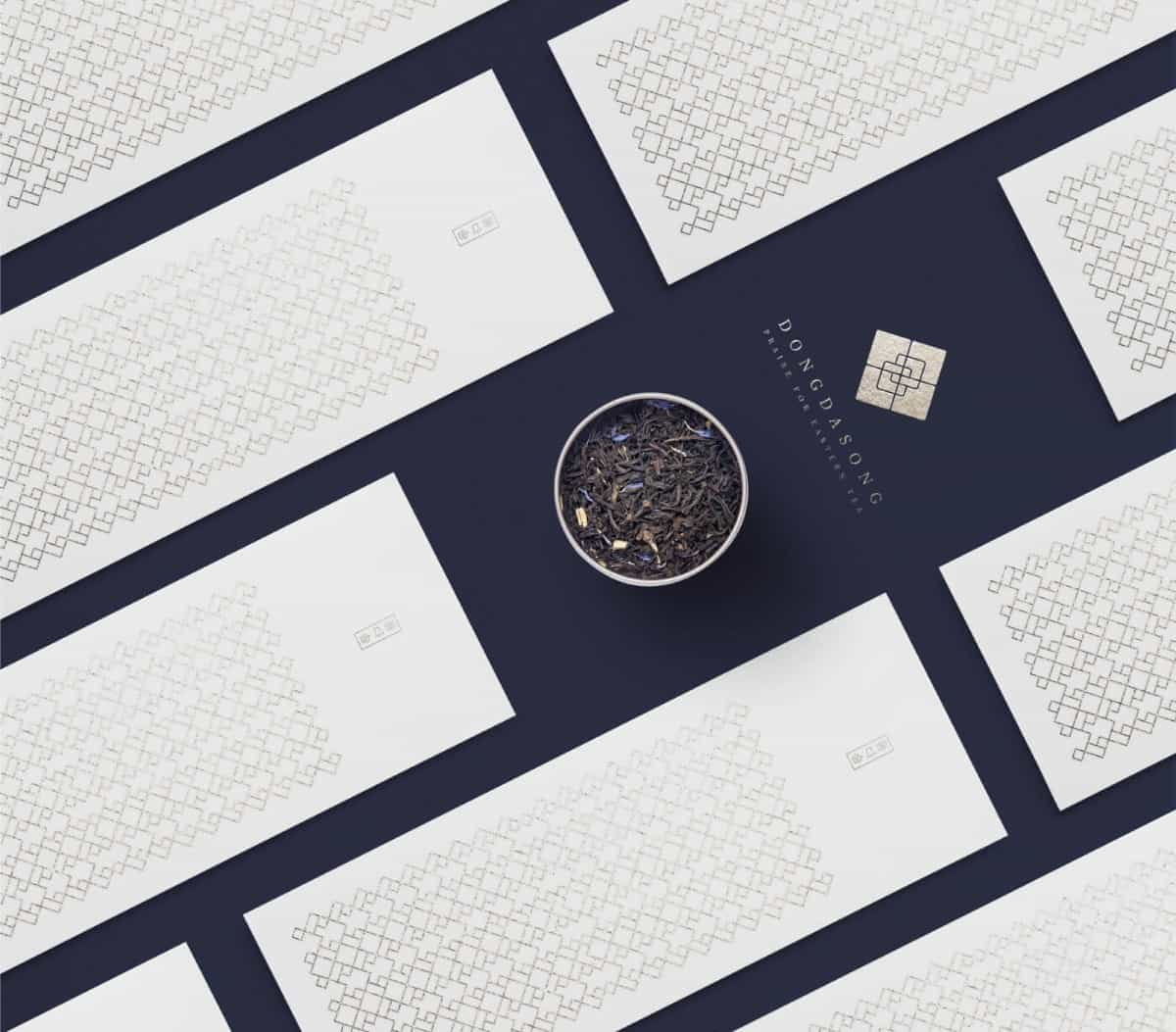 韓式LOGO設計(茶葉品牌)