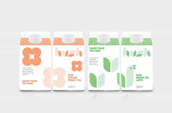 包裝設計(茶類飲品)