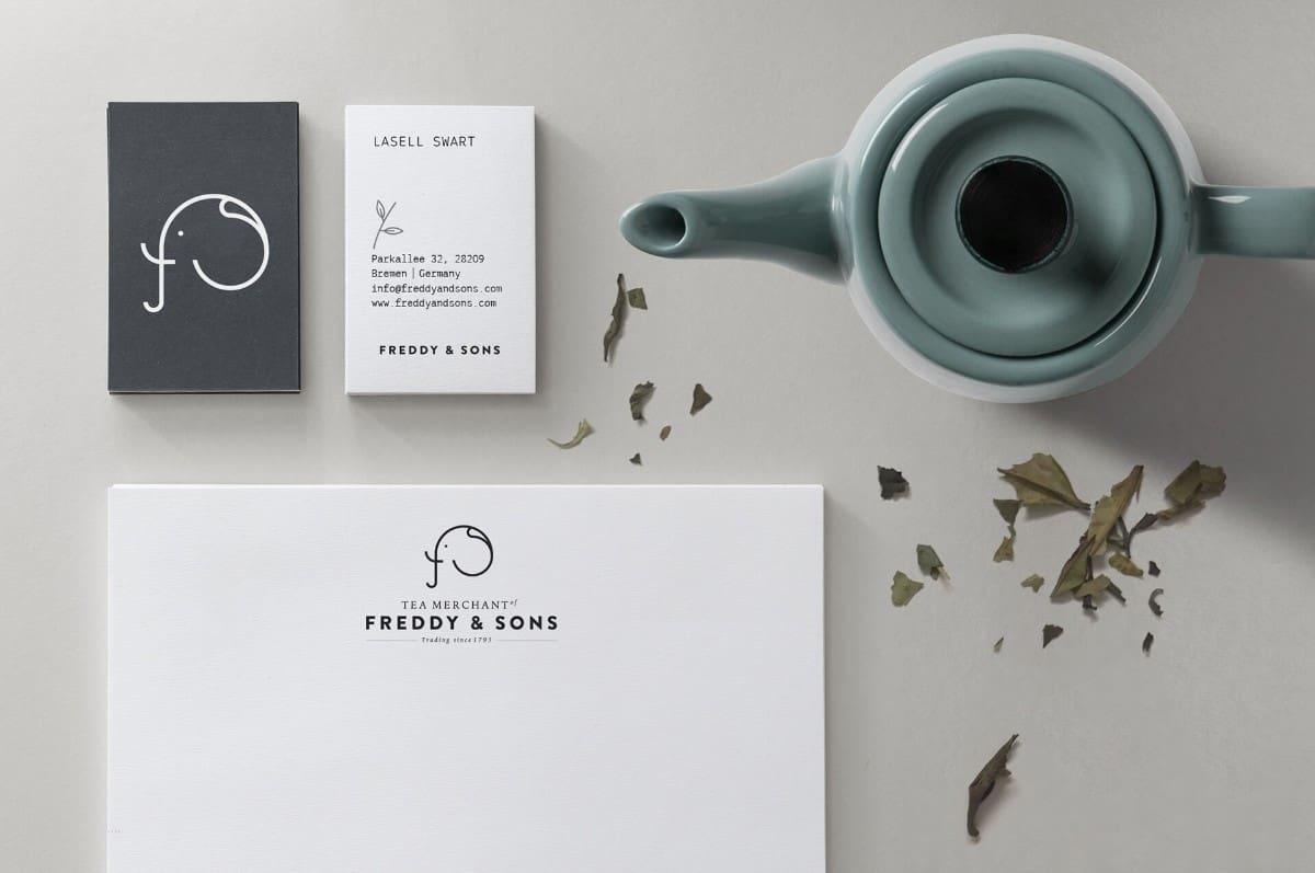茶葉品牌-名片設計