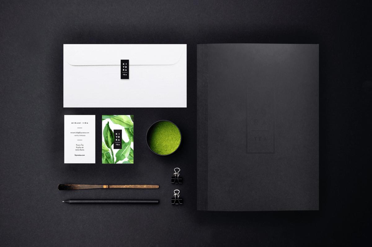 日式抹茶品牌視覺設計