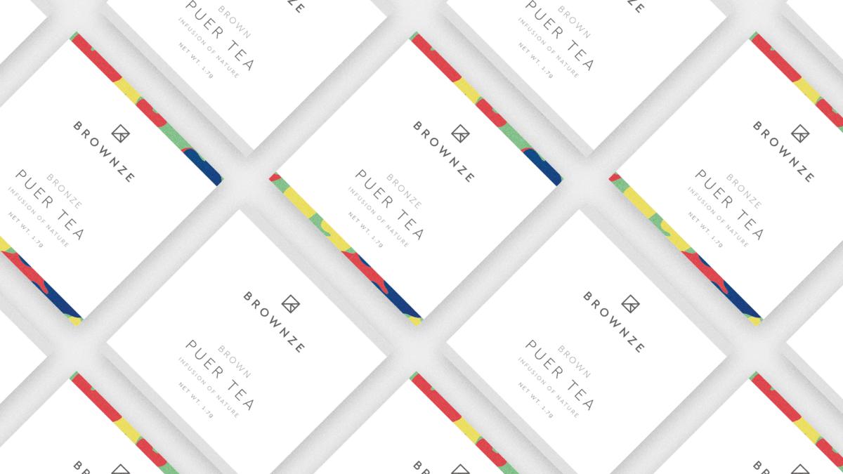 名片設計範本:茶葉品牌視覺設計