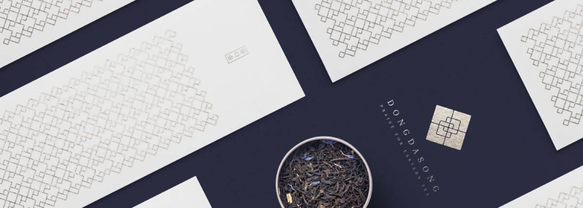 茶葉品牌、茶館、茶飲品牌名片設計