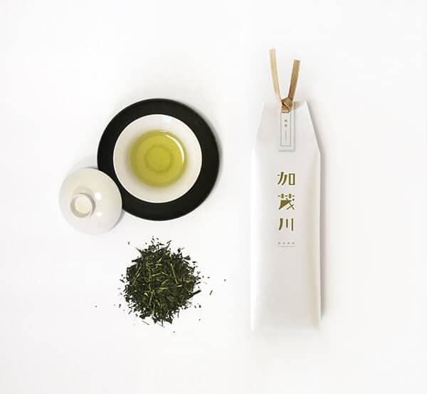 LOGO設計-加茂川茶葉品牌設計