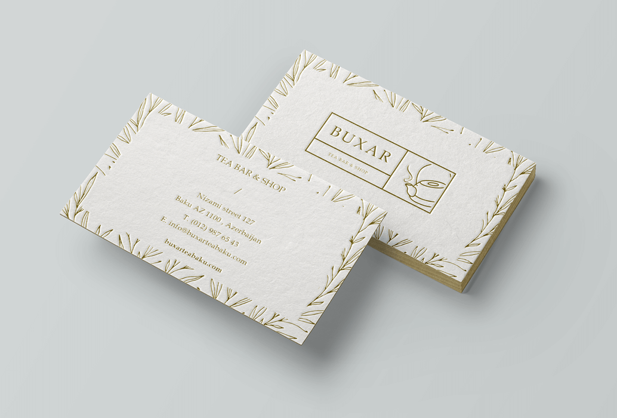 名片設計:茶葉、茶飲品牌