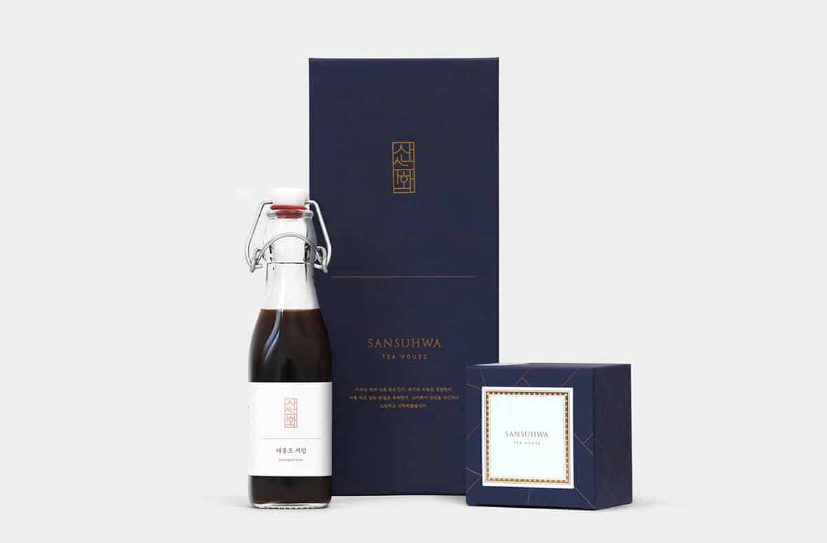 茶館品牌包裝設計(韓國首爾)茶館品牌包裝設計(韓國首爾)