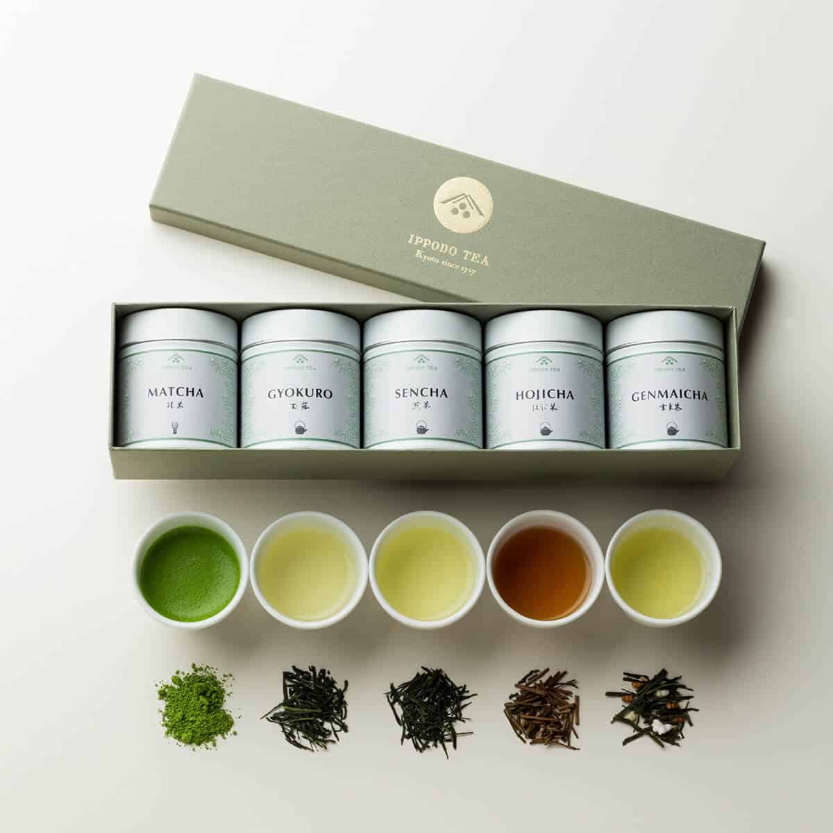 簡約典雅的茶類LOGO設計