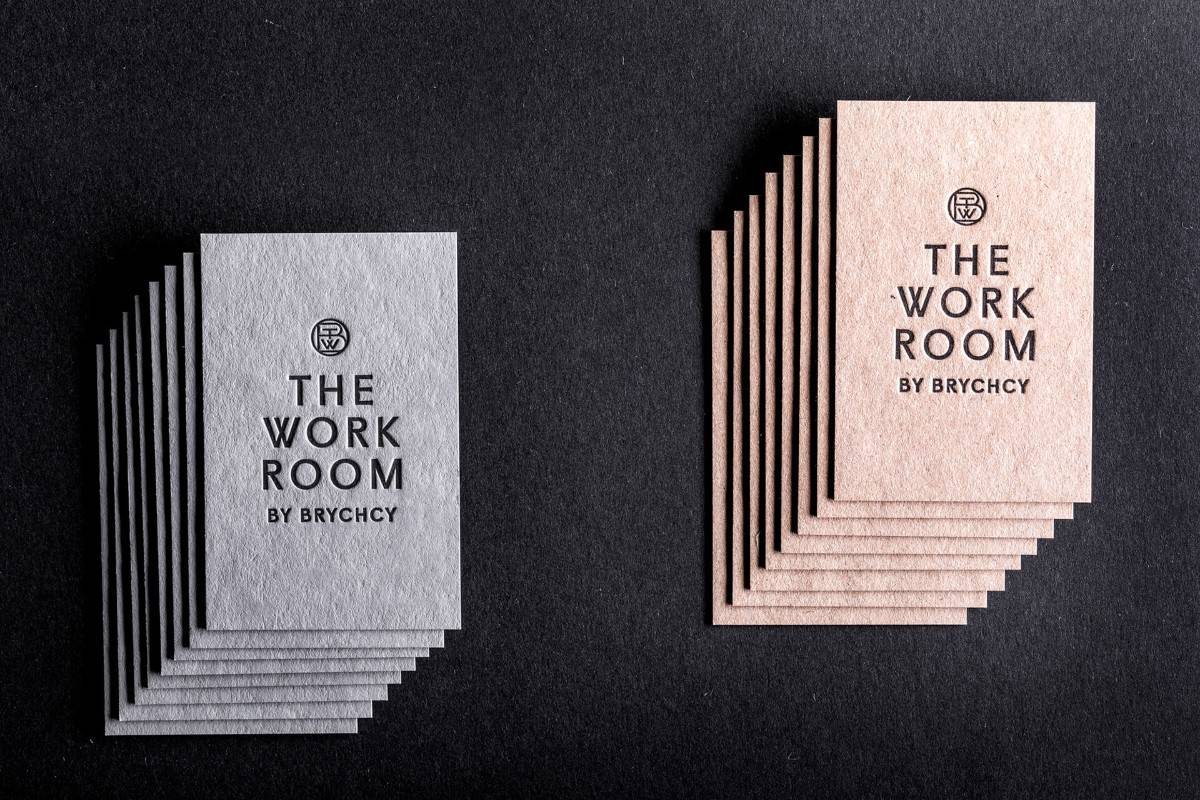設計工作室名片設計-凸版印刷