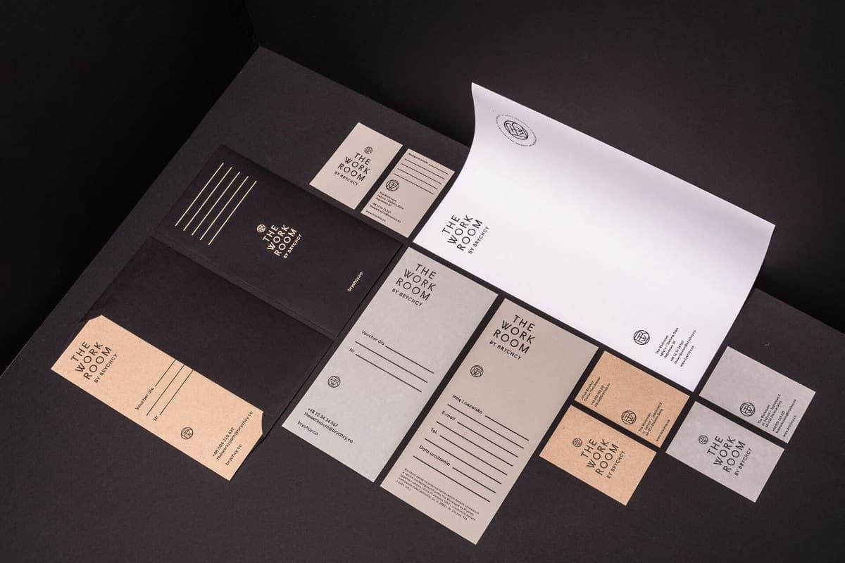 品牌視覺設計作品-工作室CIS