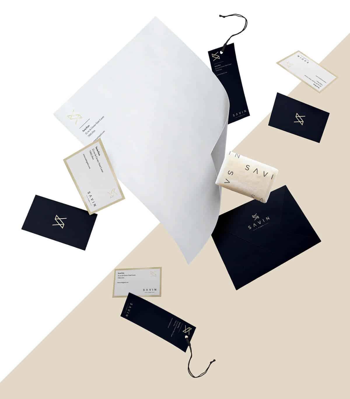 名片格式與品牌視覺設計