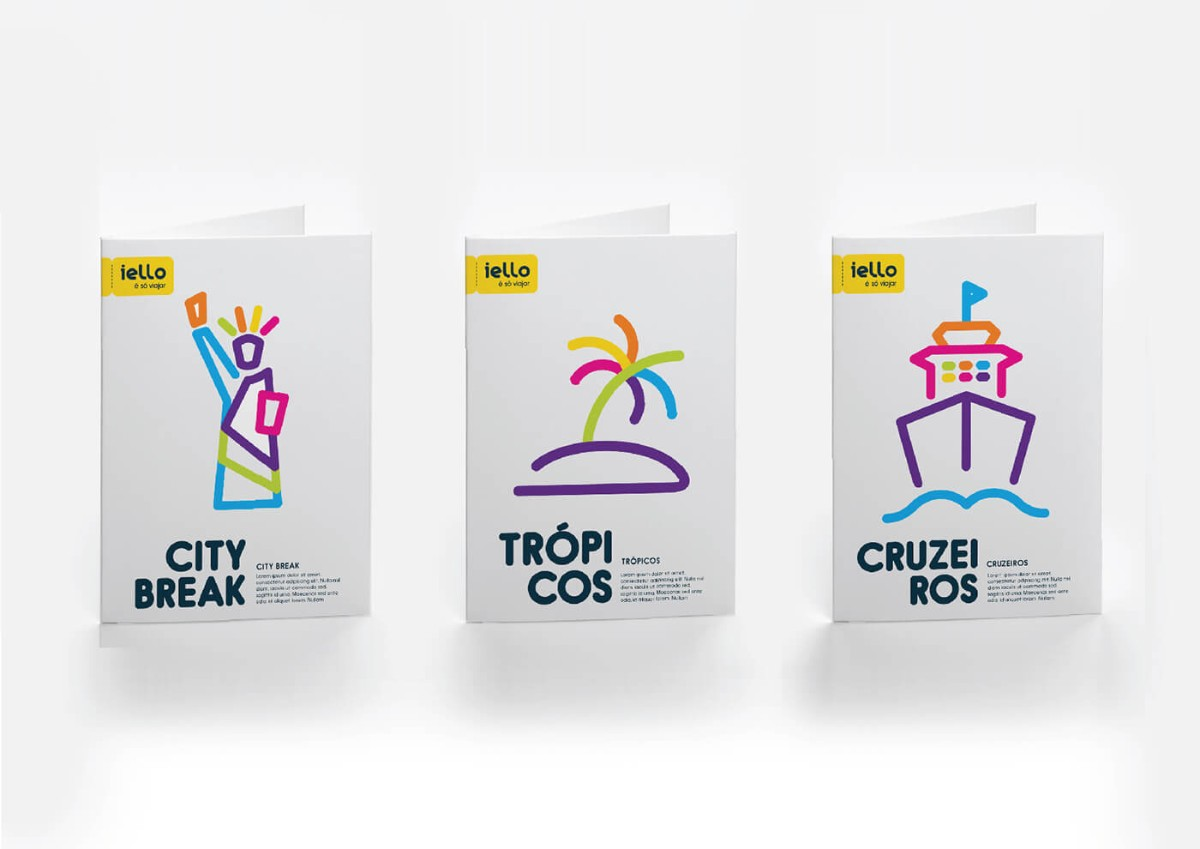 旅遊品牌名片設計/視覺設計