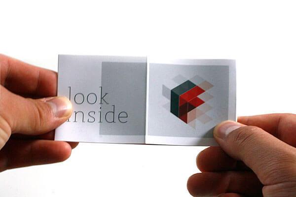 客製化名片設計-立體風格