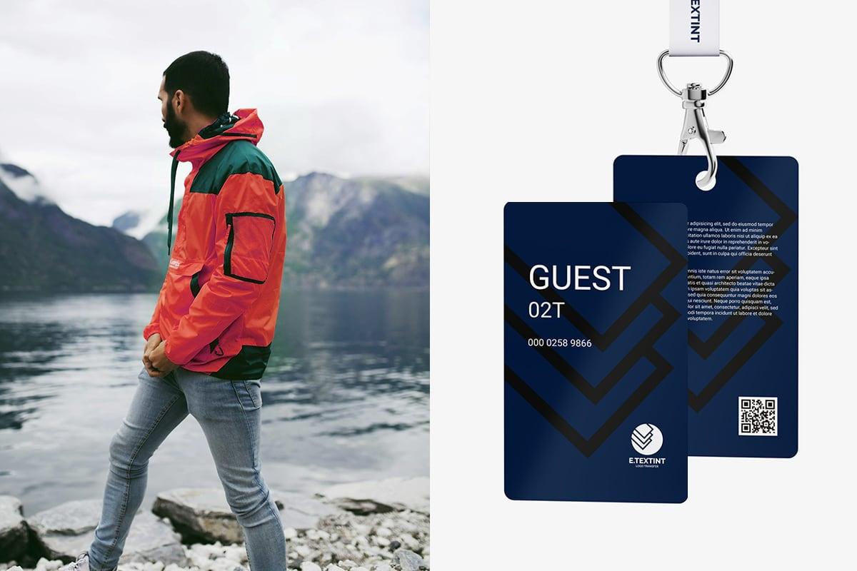 工作證、訪客證、會員卡設計案例