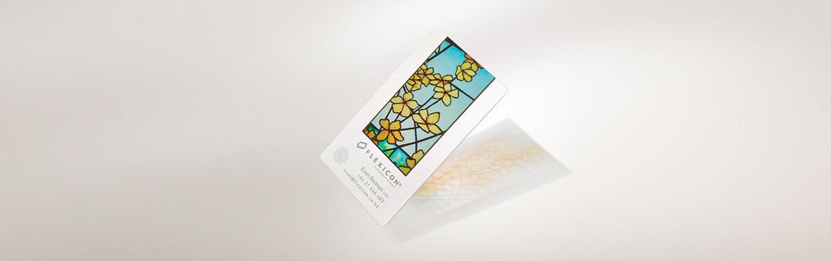 名片設計-彩繪玻璃