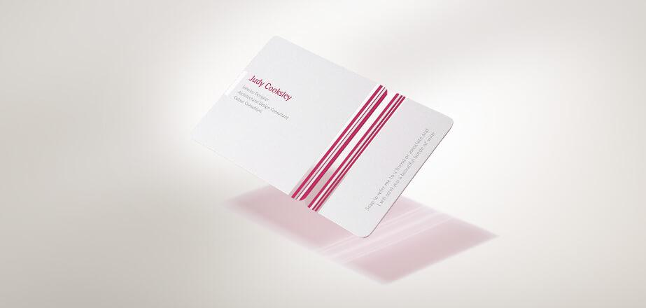 名片設計案例-塑膠材質名片