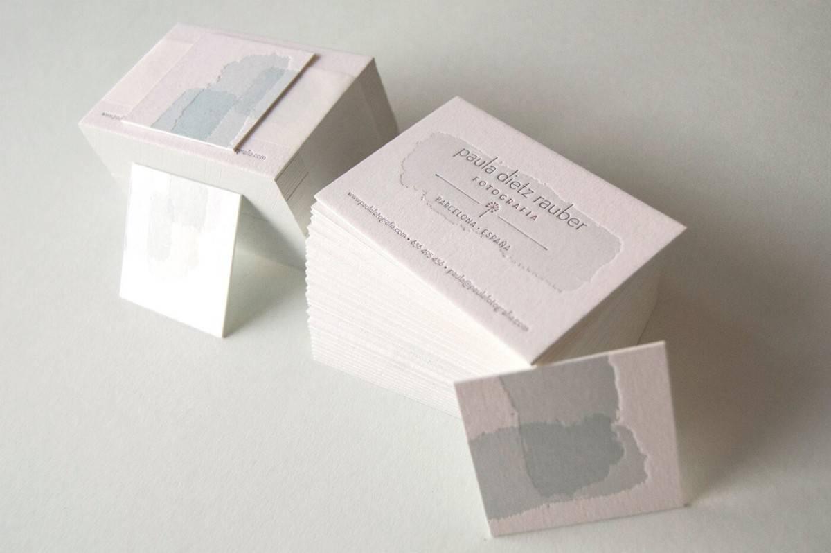 凸版印刷名片設計加工-疊色工法