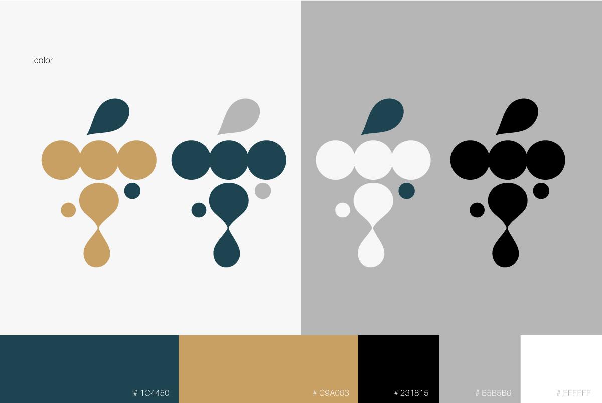 酒類LOGO設計-使用樣式