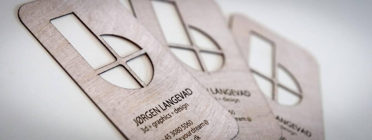 木頭材質-特殊加工名片設計