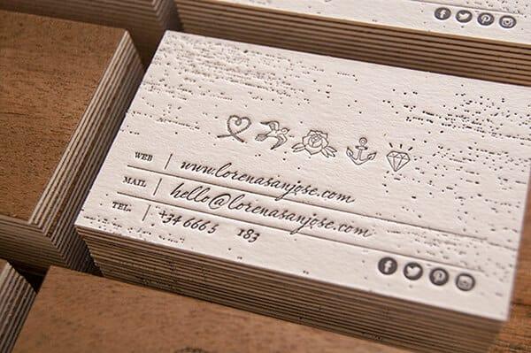 名片設計-木片名片製作