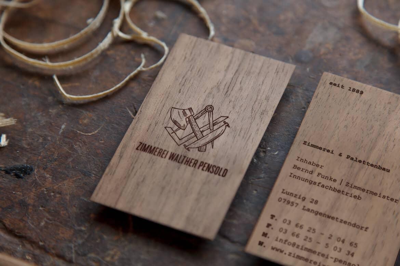 木工名片設計